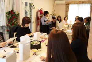 星野久美 プロデュース講習会 フラワーサロン
