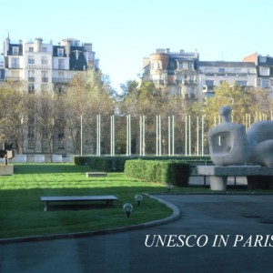 国連ユネスコ パリ フランス フルールトレシック 星野久美 アート デザイナー