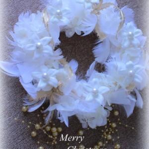 ジャスミン 樹脂加工 クリスマスリース 横浜 フルールトレシック 星野久美