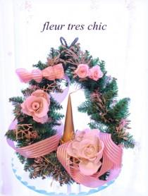 キャンドルアレンジ クリスマス 資格 フラワー 横浜 フルールトレシック
