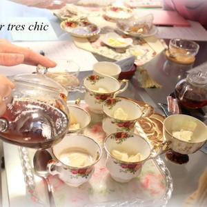 おもてなし講座 紅茶 資格 横浜 フルールトレシック