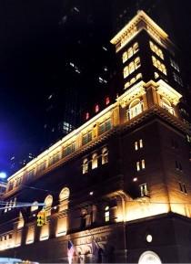 ニューヨーク カーネギーホール 星野久美 ザンケルホール 舞台装飾 ステージフラワー装飾