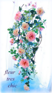 タペストリー 壁飾り 道具要らず フラワーオブジェ お花の先生 開業サポート お教室開業