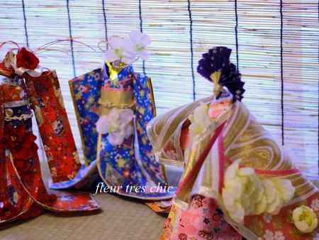 着物ドール 振袖 ダイヨ 折り紙 和紙 プロジェクト 文化活動 社会貢献