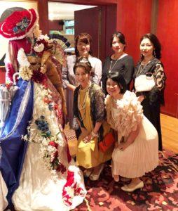 フランス大使館 花展示 フラワー装飾 和 フランスドール 星野久美