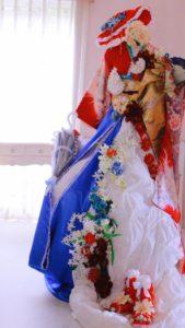 フランス大使館 日仏160周年 花展示 フラワー装飾 星野久美