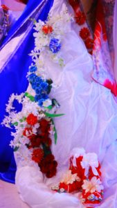 フランス大使館 フラワー装飾 花展示 星野久美