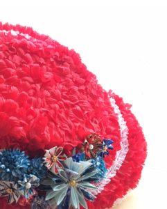 フランス大使館 帽子 フランス人形 星野久美