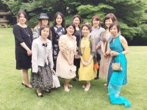 フランス大使館公邸 ドレスアップ パーティー フランスナイト 星野久美
