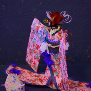 着物ドール ダイヨ 折り紙 プロジェクト