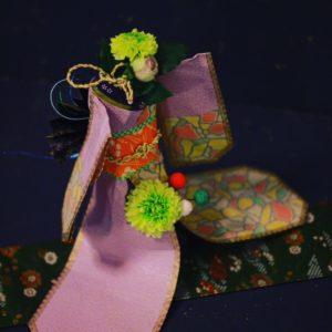 着物ドール お花と折り紙 ダイヨ