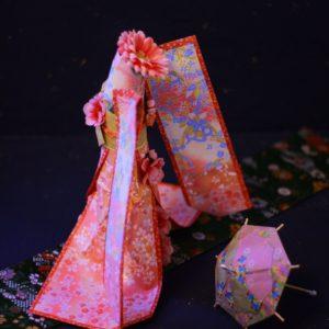 ダイヨの折り紙 着物ドール