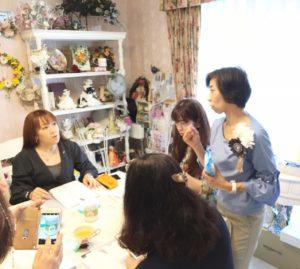 星野久美 プロデュース お花教室