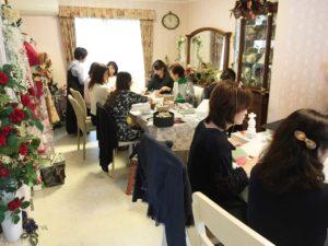 星野久美 プロデュース講習会 お花教室