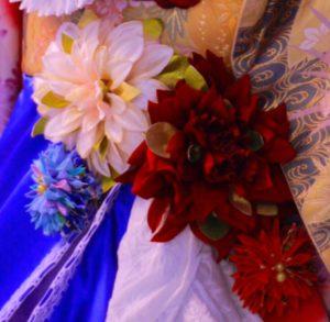 フランス大使館 花展示 星野久美 日仏160周年 フランス 日本