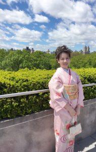 NY メトロポリタン美術館 フラワーオブジェ展示発表 星野久美