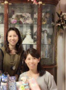 着物ドールの輪プロジェクト神戸代表橋本久美子さん。