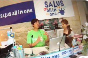 秋本奈緒美さんがパーソナリティのラジオ&テレビ番組に出演