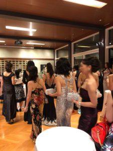 フランス大使館にてナイトパーティー