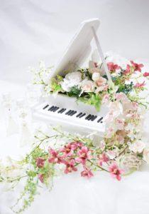 フィリアホール装飾 グランドピアノ