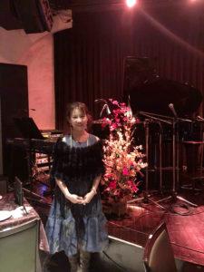 秋本奈緒美さんライブステージ装飾