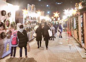 日比谷公園にて東京クリスマスマーケット
