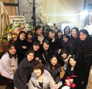秋本奈緒美さん年末ライブに生徒さまたちと