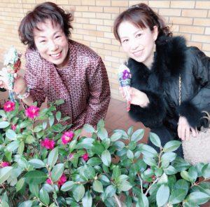 お花で文化コミュニティの生徒さまたちと