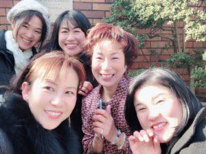 オーストリア大使館にてお花で文化コミュニティの生徒さまたちと