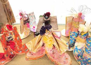 お花と折り紙で拡げる着物ドールの輪プロジェクト