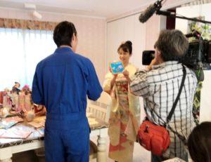 テレビ神奈川で放映されました