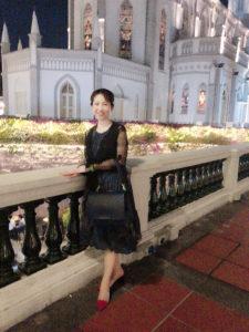 シンガポールにて