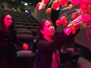 ニアホール渋谷にて装飾準備