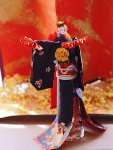 日本舞踊の着物ドールリウム®︎