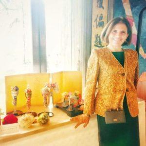 イタリア大使夫人と着物ドールリウム®︎