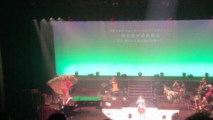 渋谷さくらホールにて、ウェイウェイ・ウーライブツアー2019ファイナル