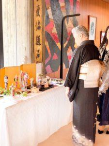 イタリア大使館にて着物ドールリウム®︎展示