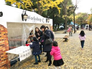 東京クリスマスマーケット ワークショップ