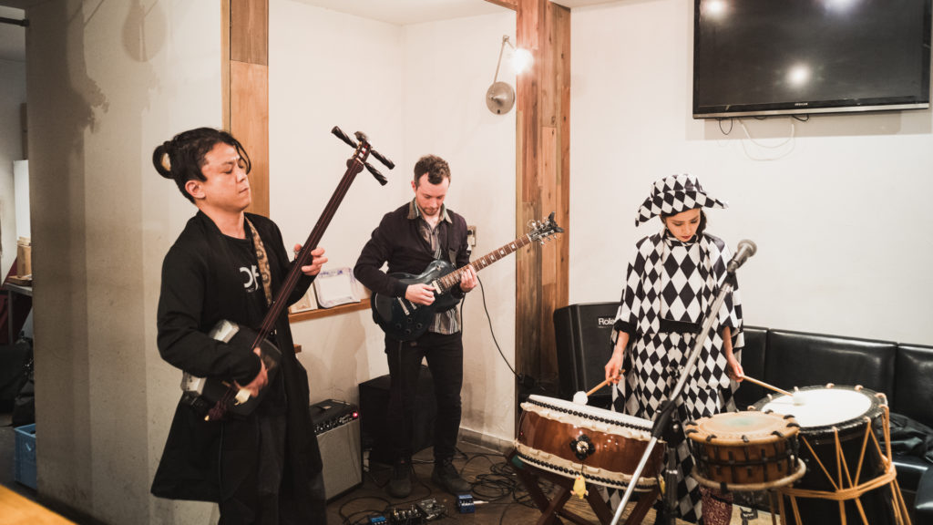 海外ミュージシャン演奏