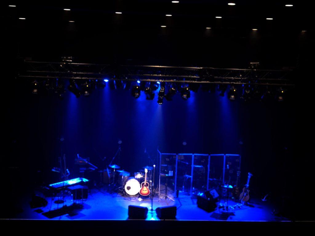 吉田栄作さんコンサートステージ