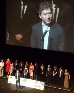 フランス映画祭 是枝監督 オープニングセレモニー