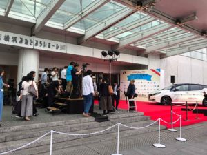 フランス映画祭 レッドカーペット
