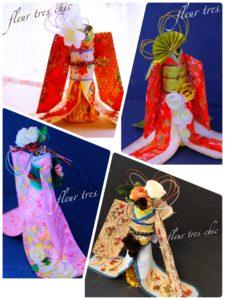 おもてなしコミュニティ花と折り紙で拡げる着物ドールの輪プロジェクト